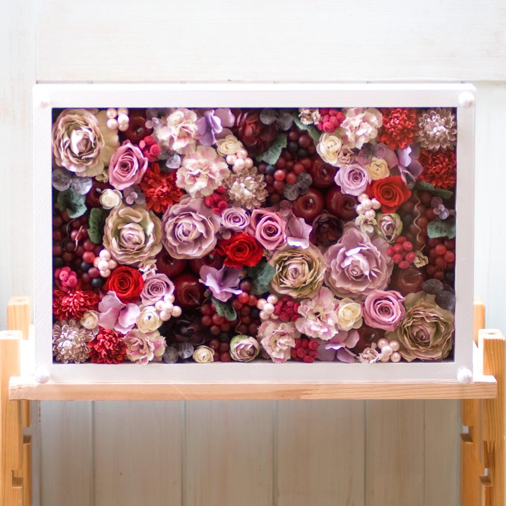 プリザーブドフラワーと造花のシリーズ